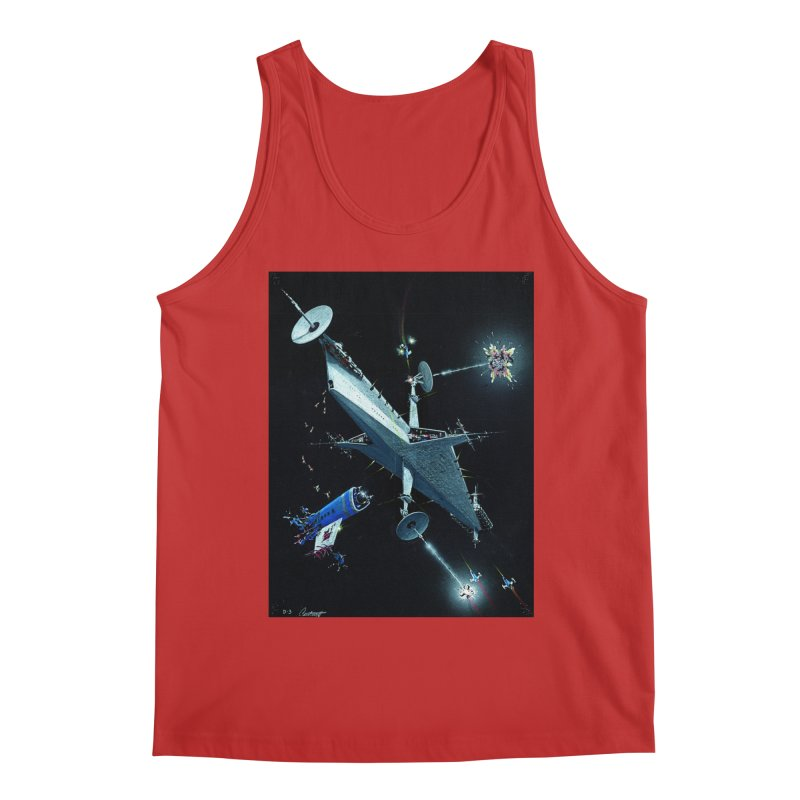 Concept Ship 3 Men's Tank by Colin Cantwell ll
