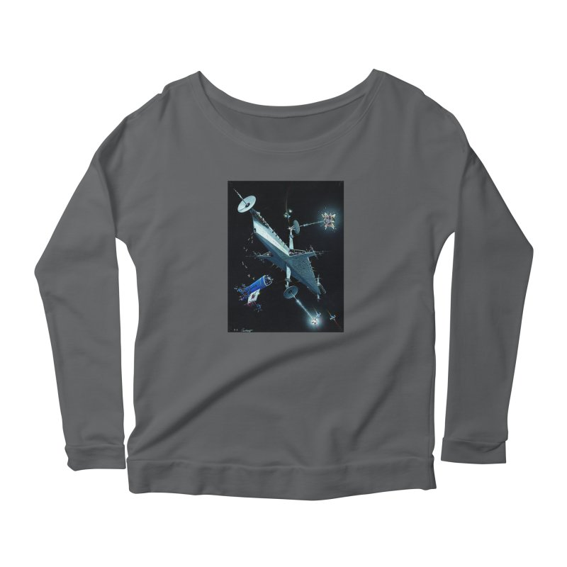 Concept Ship 3 Women's Longsleeve T-Shirt by Colin Cantwell ll