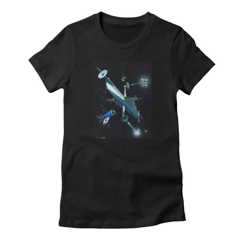 Concept Ship 3 Women's T-Shirt by Colin Cantwell ll
