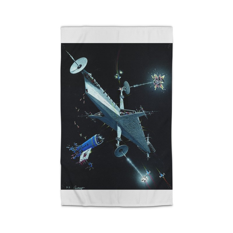 Concept Ship 3 Home Rug by Colin Cantwell ll