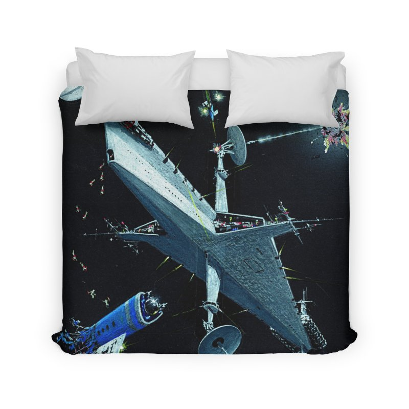 Concept Ship 3 Home Duvet by Colin Cantwell ll