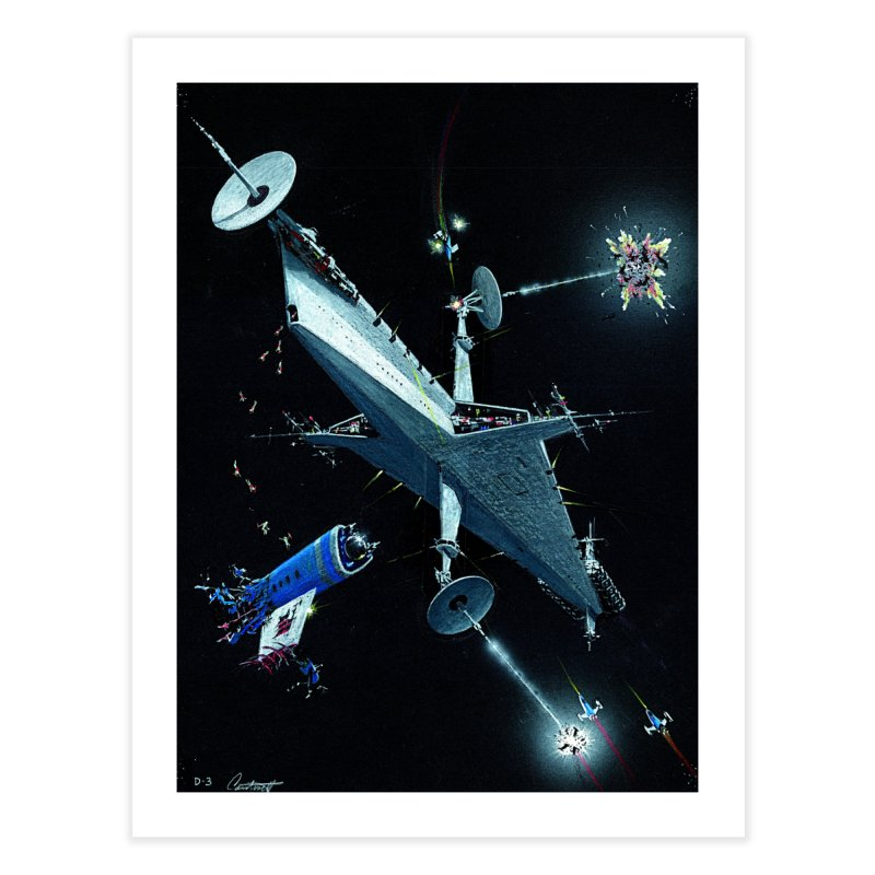 Concept Ship 3 Home Fine Art Print by Colin Cantwell ll