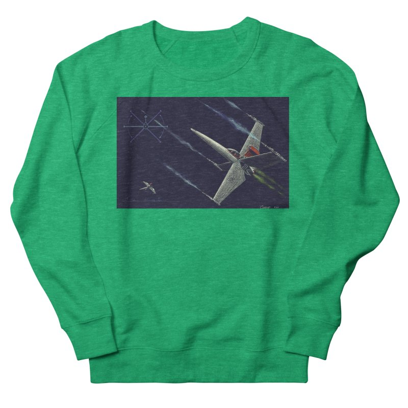 Concept Ship 2 Women's Sweatshirt by Colin Cantwell ll