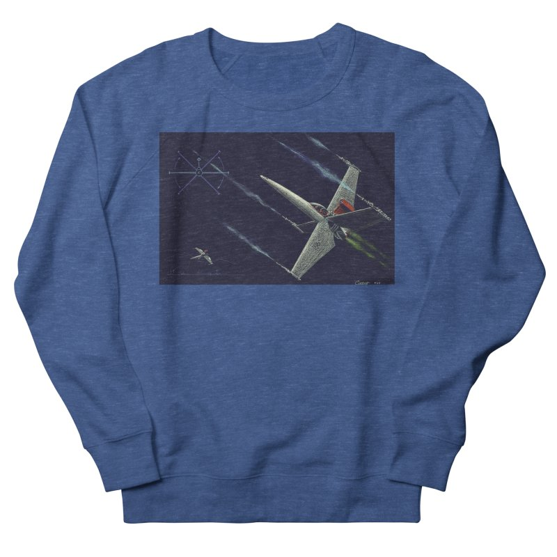 Concept Ship 2 Men's Sweatshirt by Colin Cantwell ll
