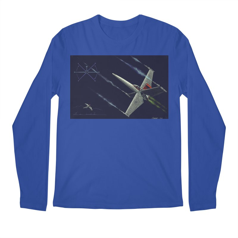 Concept Ship 2 Men's Longsleeve T-Shirt by Colin Cantwell ll