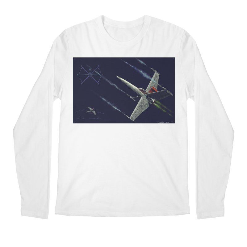 Concept Ship 2 Men's Regular Longsleeve T-Shirt by Colin Cantwell ll