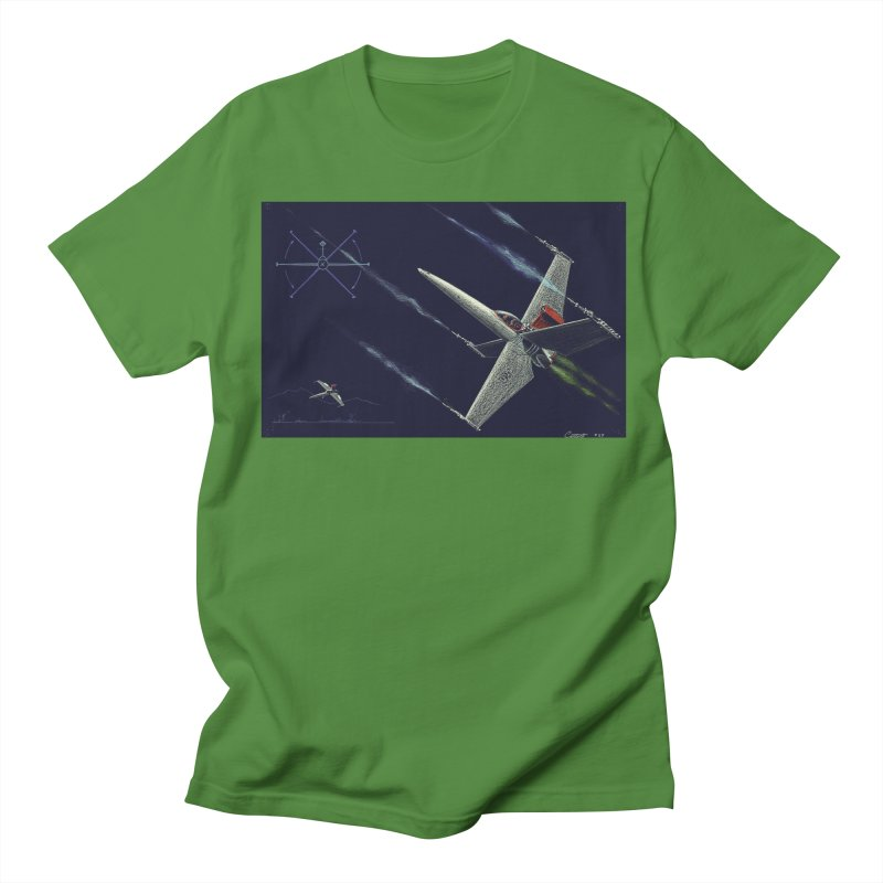 Concept Ship 2 Men's Regular T-Shirt by Colin Cantwell ll