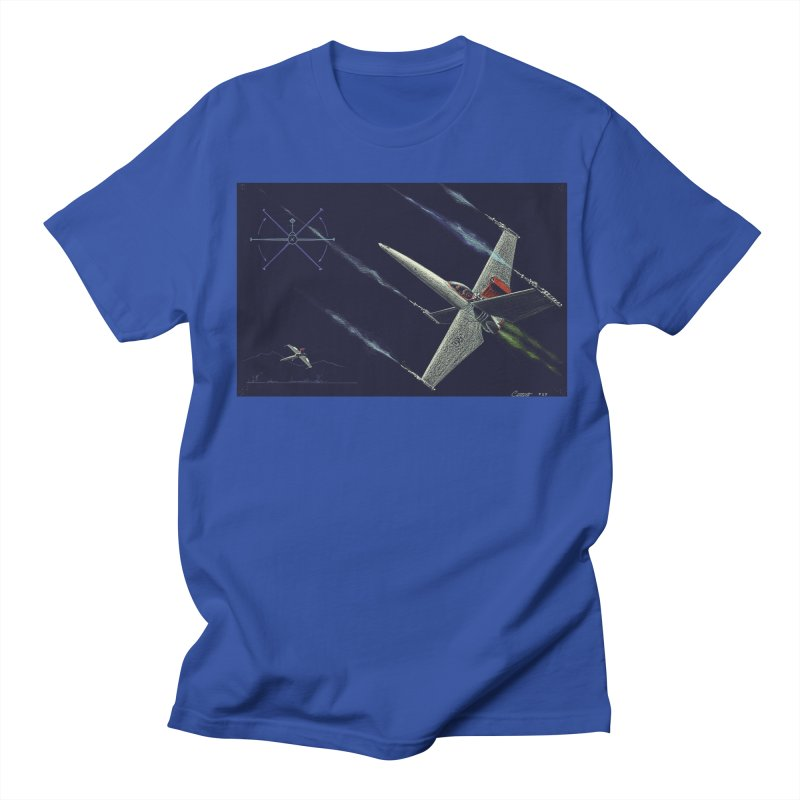 Concept Ship 2 Men's T-Shirt by Colin Cantwell ll