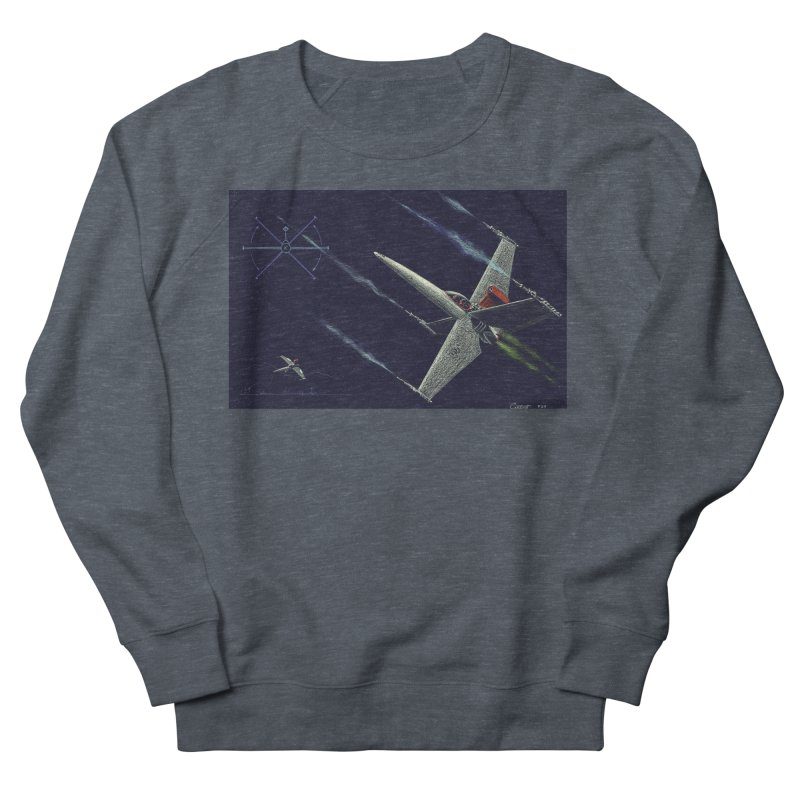 Concept Ship 2 Women's French Terry Sweatshirt by Colin Cantwell ll