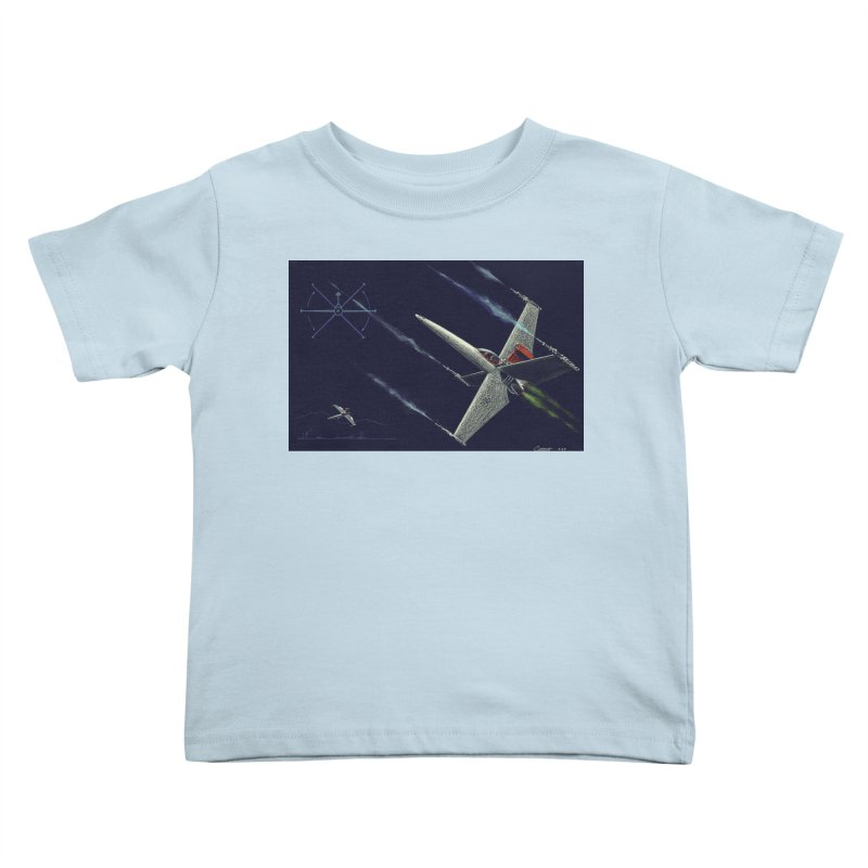 Concept Ship 2 Kids Toddler T-Shirt by Colin Cantwell ll
