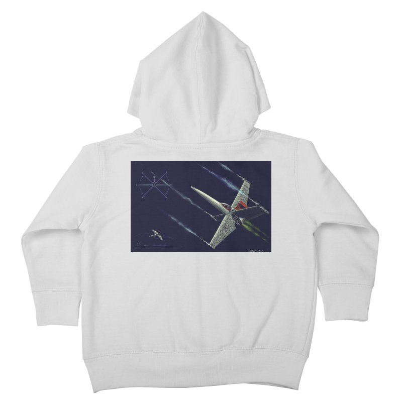 Concept Ship 2 Kids Toddler Zip-Up Hoody by Colin Cantwell ll