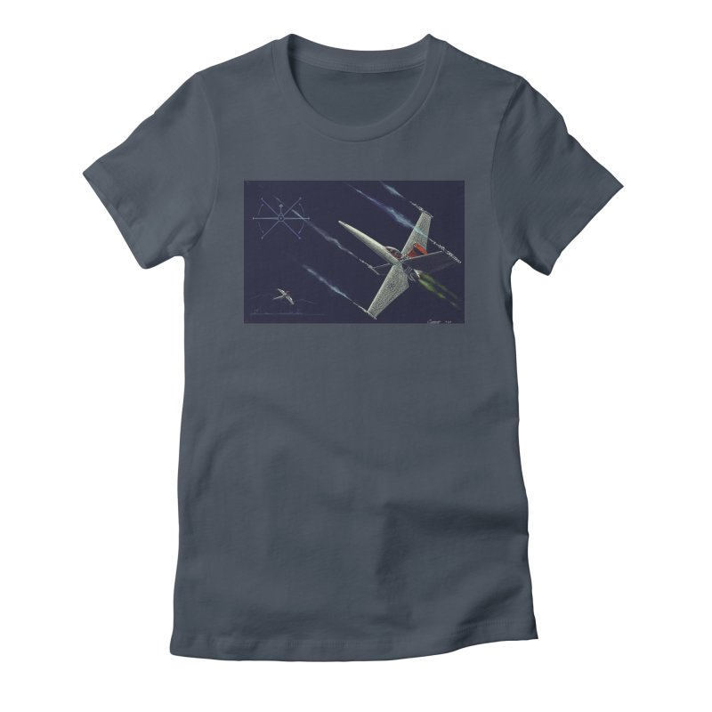 Concept Ship 2 Women's T-Shirt by Colin Cantwell ll