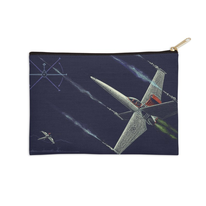 Concept Ship 2 Accessories Zip Pouch by Colin Cantwell ll