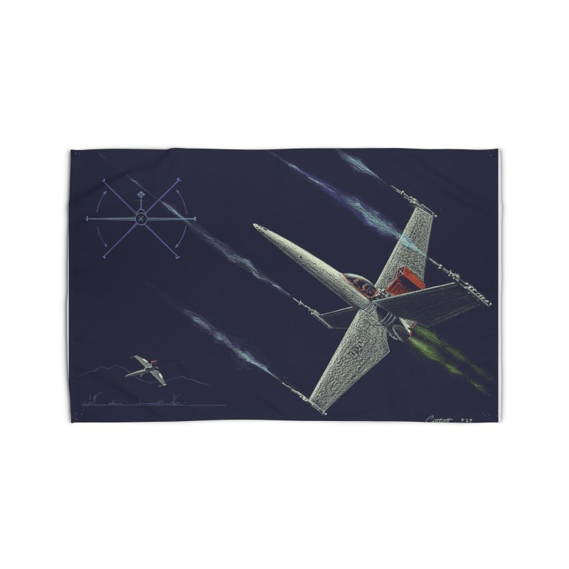 Concept Ship 2 Home Rug by Colin Cantwell ll