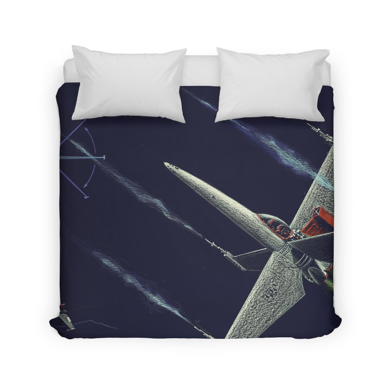 Concept Ship 2 Home Duvet by Colin Cantwell ll