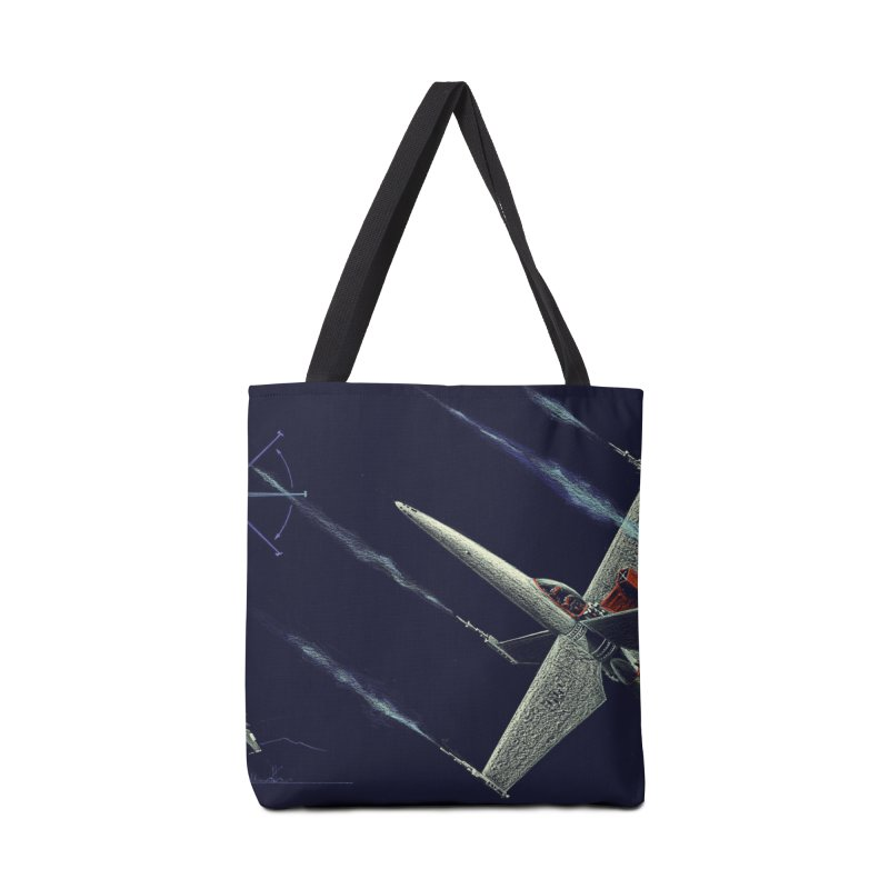 Concept Ship 2 Accessories Tote Bag Bag by Colin Cantwell ll