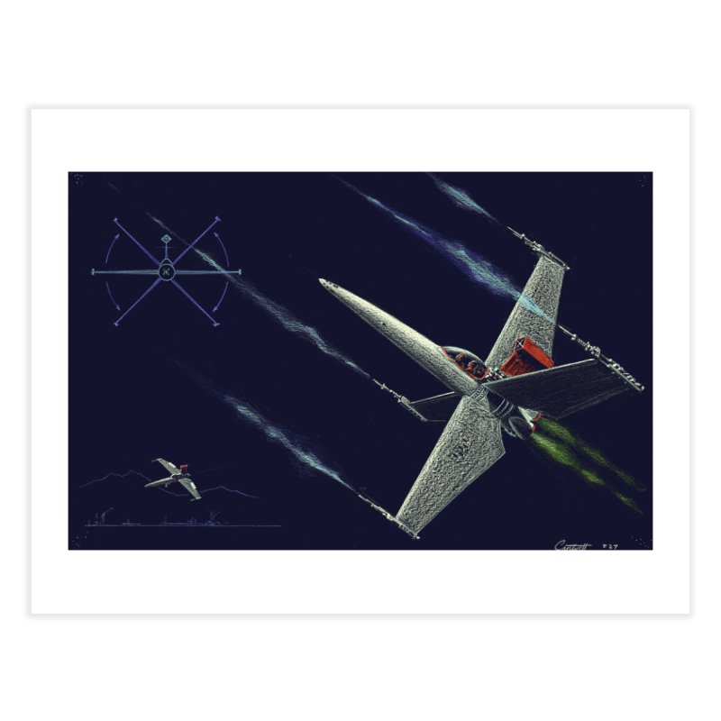 Concept Ship 2 Home Fine Art Print by Colin Cantwell ll