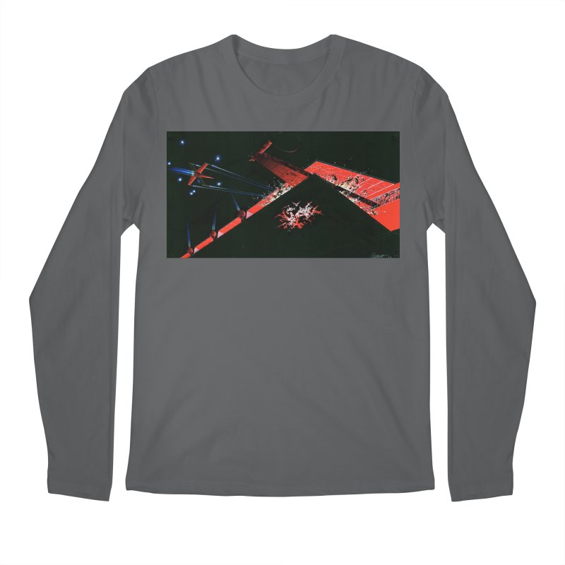 Concept Ship 1  Men's Longsleeve T-Shirt by Colin Cantwell ll