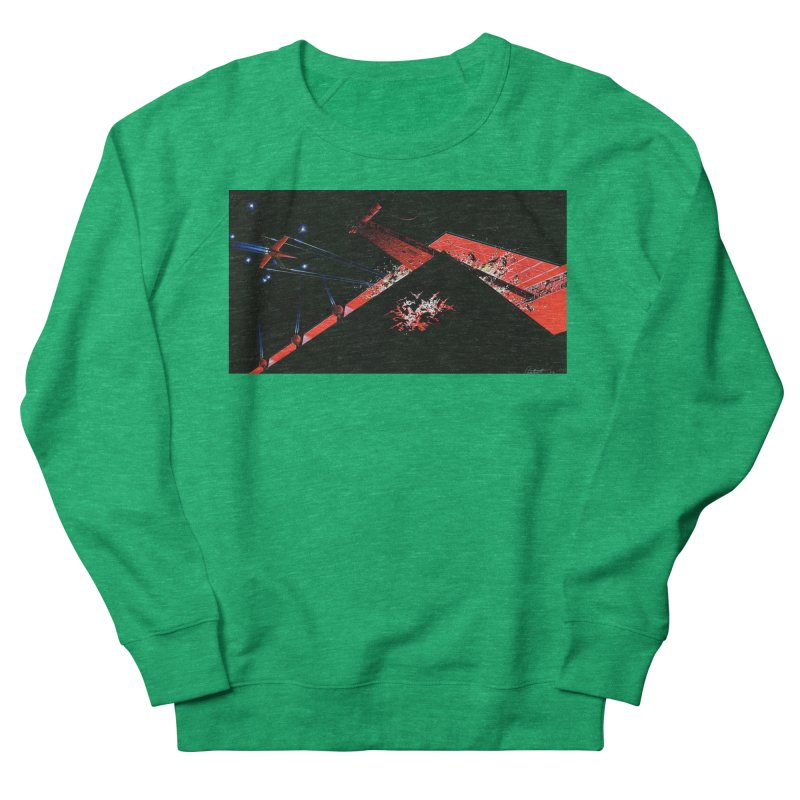 Concept Ship 1  Women's Sweatshirt by Colin Cantwell ll