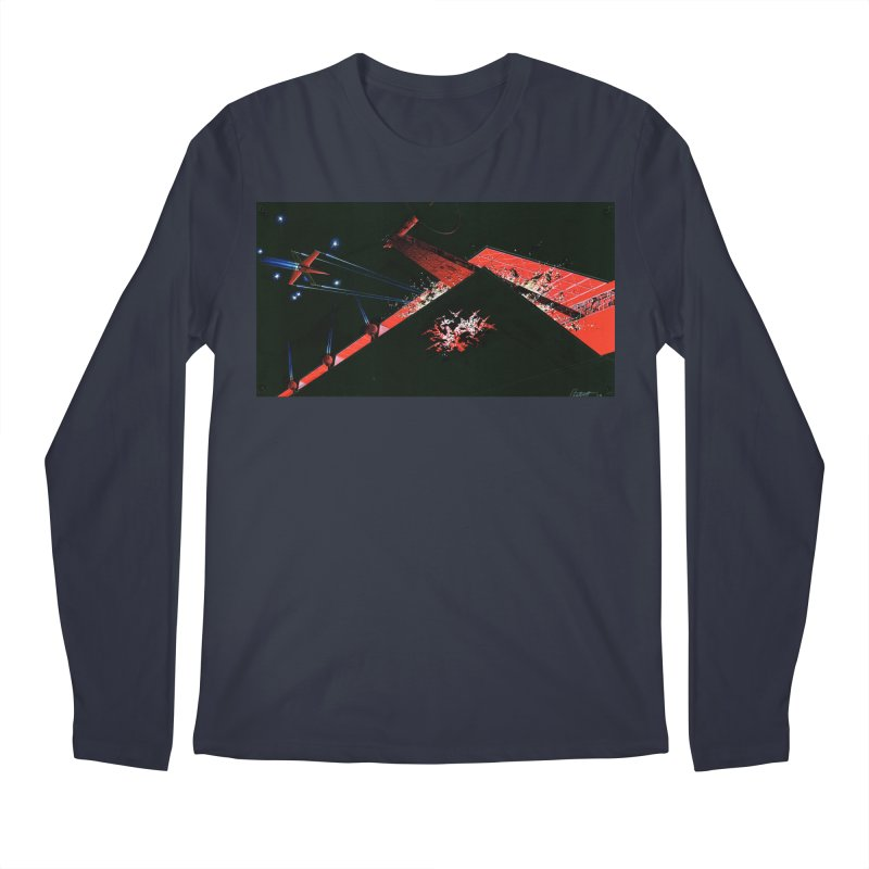 Concept Ship 1  Men's Regular Longsleeve T-Shirt by Colin Cantwell ll