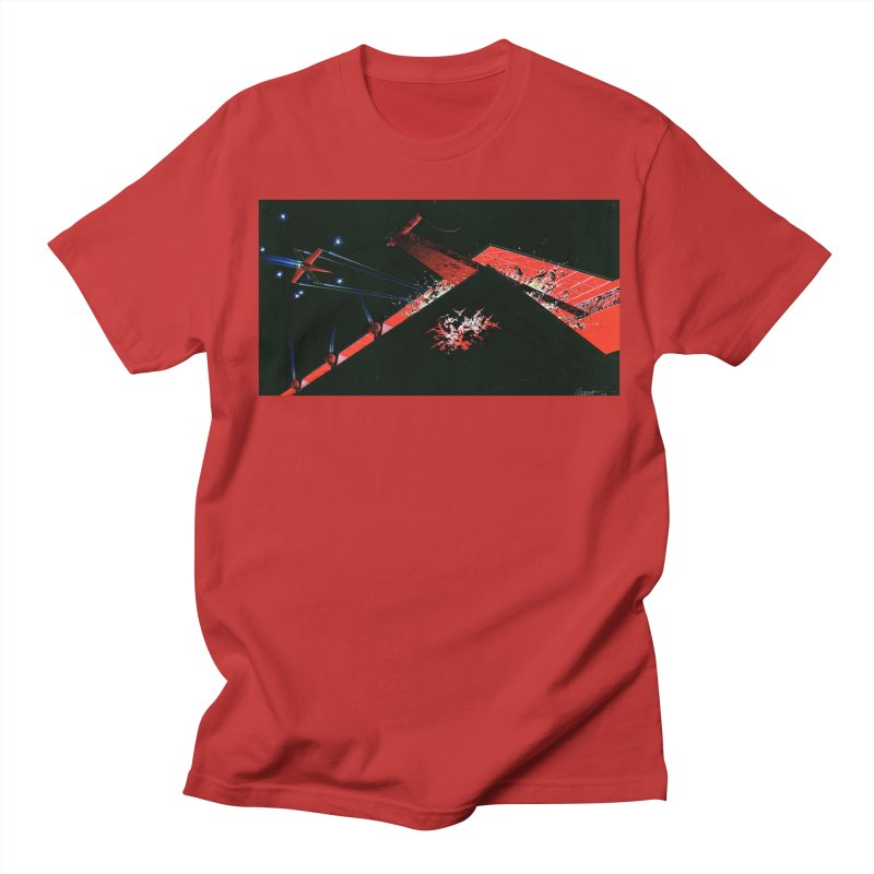 Concept Ship 1  Men's Regular T-Shirt by Colin Cantwell ll