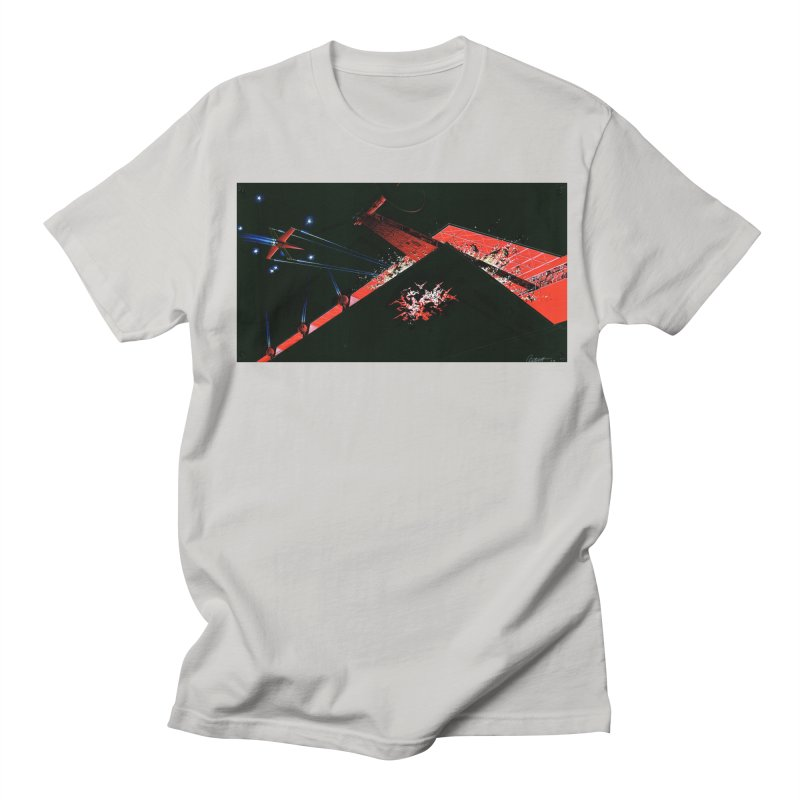 Concept Ship 1  Men's T-Shirt by Colin Cantwell ll