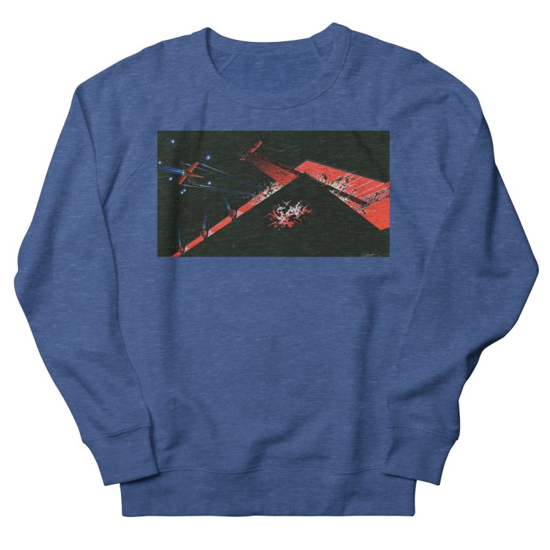Concept Ship 1  Women's French Terry Sweatshirt by Colin Cantwell ll