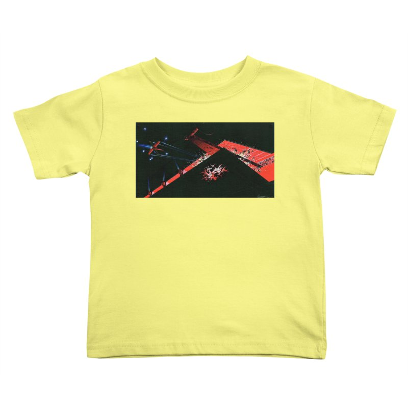Concept Ship 1  Kids Toddler T-Shirt by Colin Cantwell ll