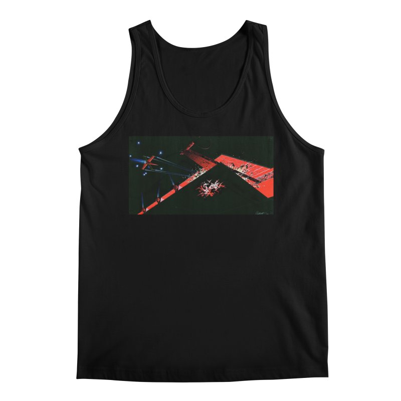 Concept Ship 1  Men's Tank by Colin Cantwell ll