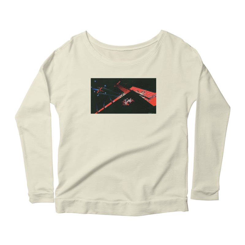 Concept Ship 1  Women's Longsleeve T-Shirt by Colin Cantwell ll