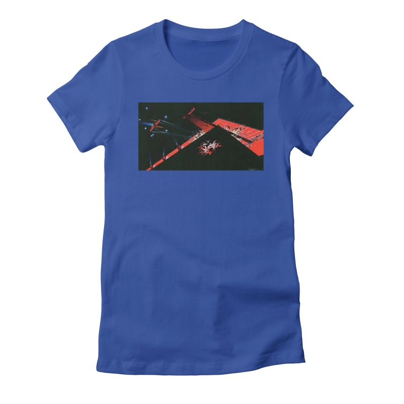 Concept Ship 1  Women's T-Shirt by Colin Cantwell ll