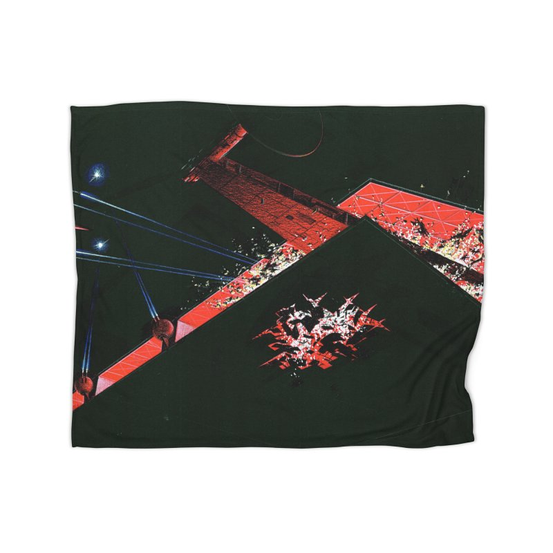 Concept Ship 1  Home Fleece Blanket Blanket by Colin Cantwell ll