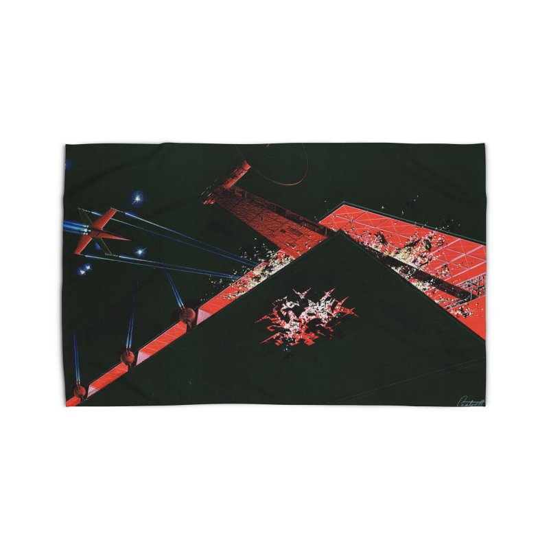 Concept Ship 1  Home Rug by Colin Cantwell ll
