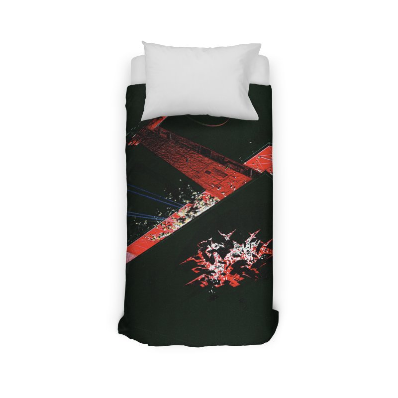 Concept Ship 1  Home Duvet by Colin Cantwell ll