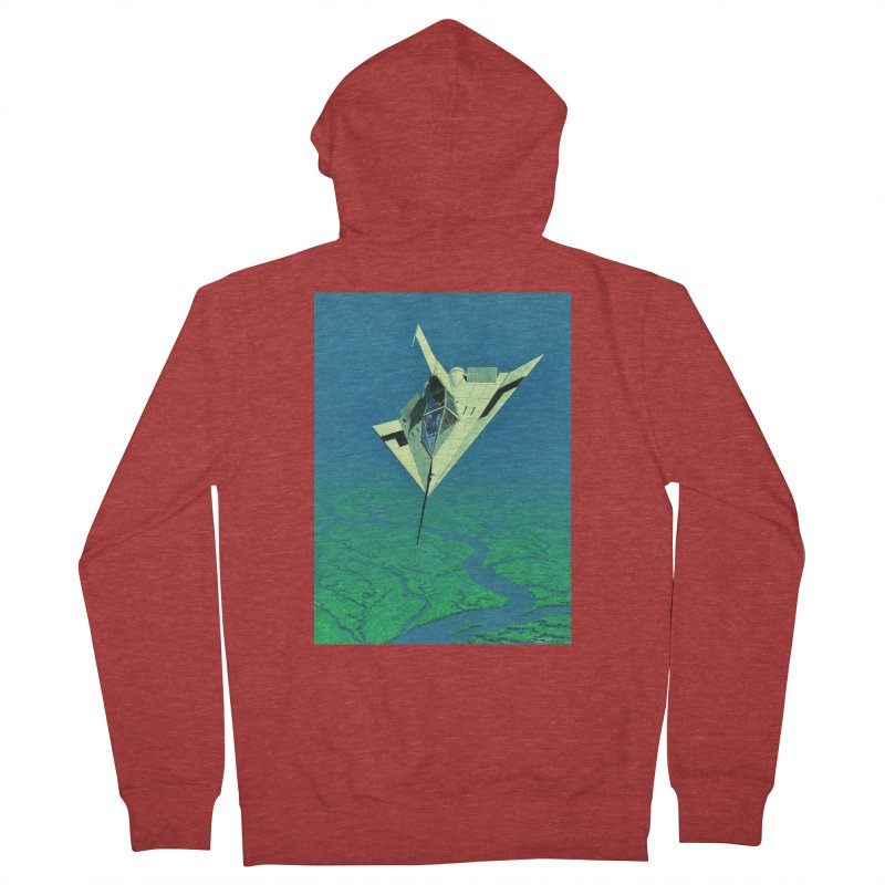 Concept Ship 5   Women's Zip-Up Hoody by Colin Cantwell ll