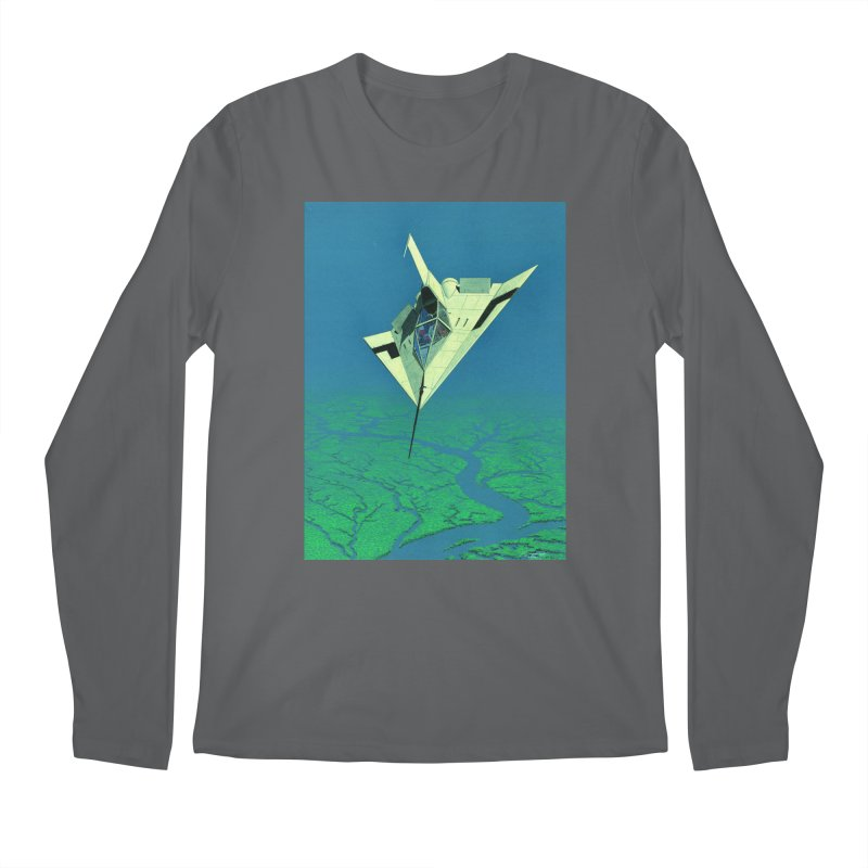 Concept Ship 5   Men's Longsleeve T-Shirt by Colin Cantwell ll