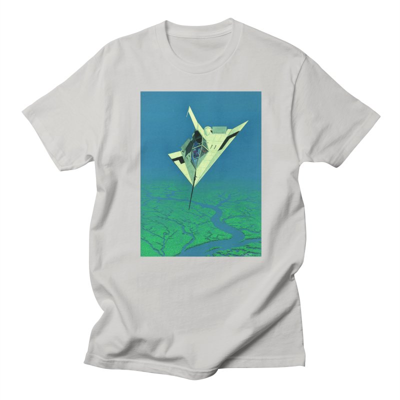 Concept Ship 5   Men's T-Shirt by Colin Cantwell ll