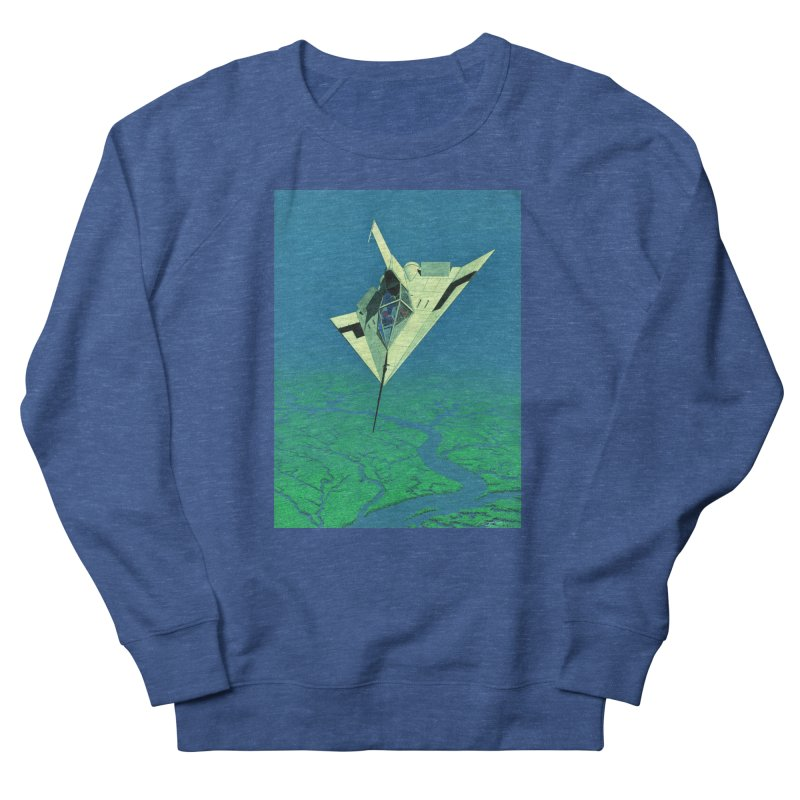 Concept Ship 5   Men's Sweatshirt by Colin Cantwell ll