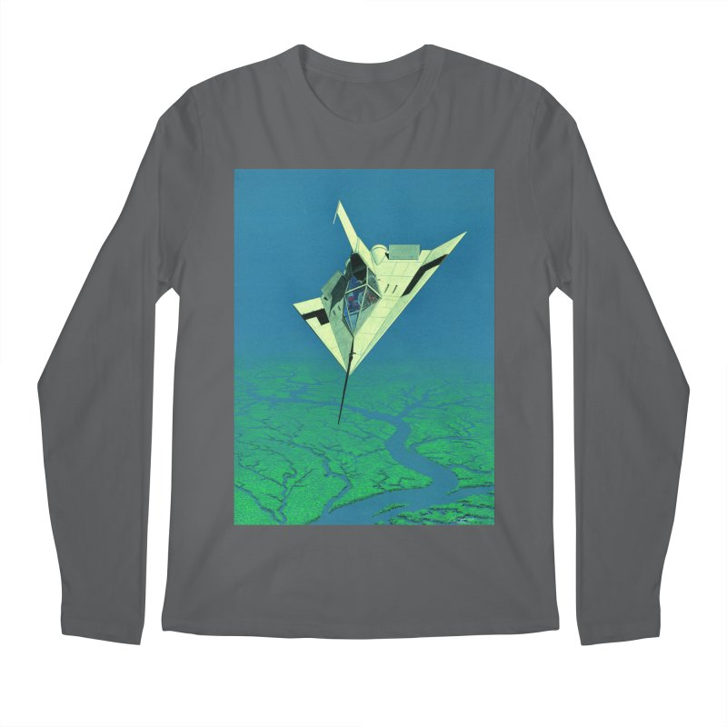 Concept Ship 5   Men's Regular Longsleeve T-Shirt by Colin Cantwell ll