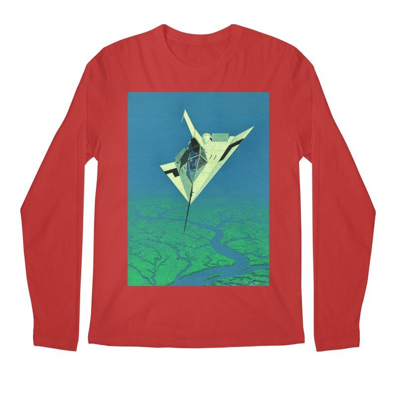 Concept Ship 5   Men's Regular Longsleeve T-Shirt by Colin Cantwell ll