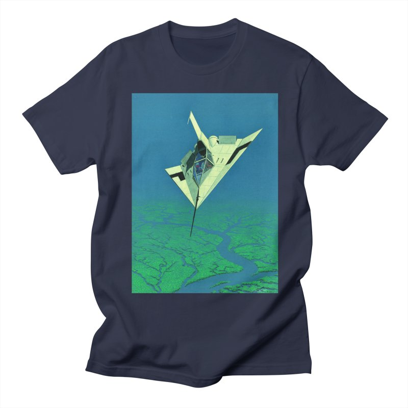 Concept Ship 5   Men's Regular T-Shirt by Colin Cantwell ll
