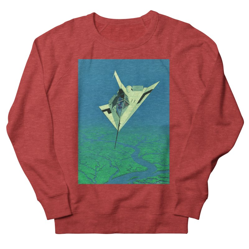 Concept Ship 5   Women's French Terry Sweatshirt by Colin Cantwell ll