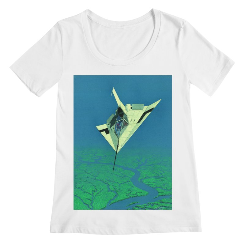 Concept Ship 5   Women's Regular Scoop Neck by Colin Cantwell ll