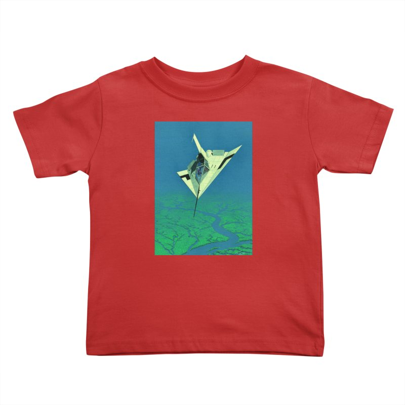 Concept Ship 5   Kids Toddler T-Shirt by Colin Cantwell ll