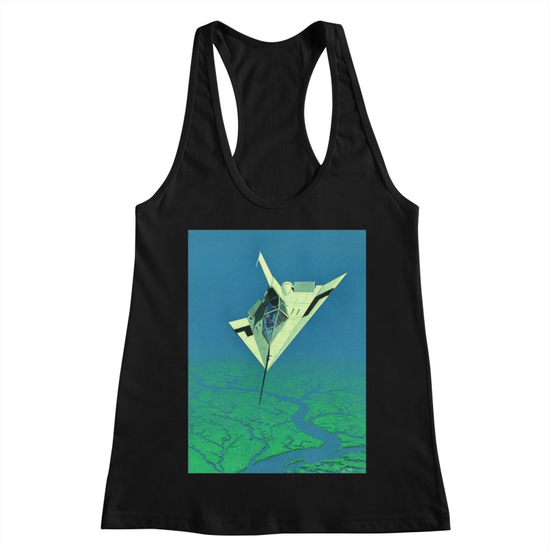 Concept Ship 5   Women's Tank by Colin Cantwell ll