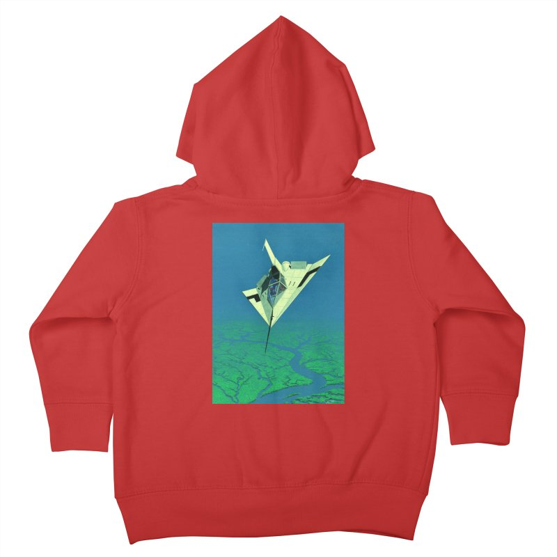 Concept Ship 5   Kids Toddler Zip-Up Hoody by Colin Cantwell ll