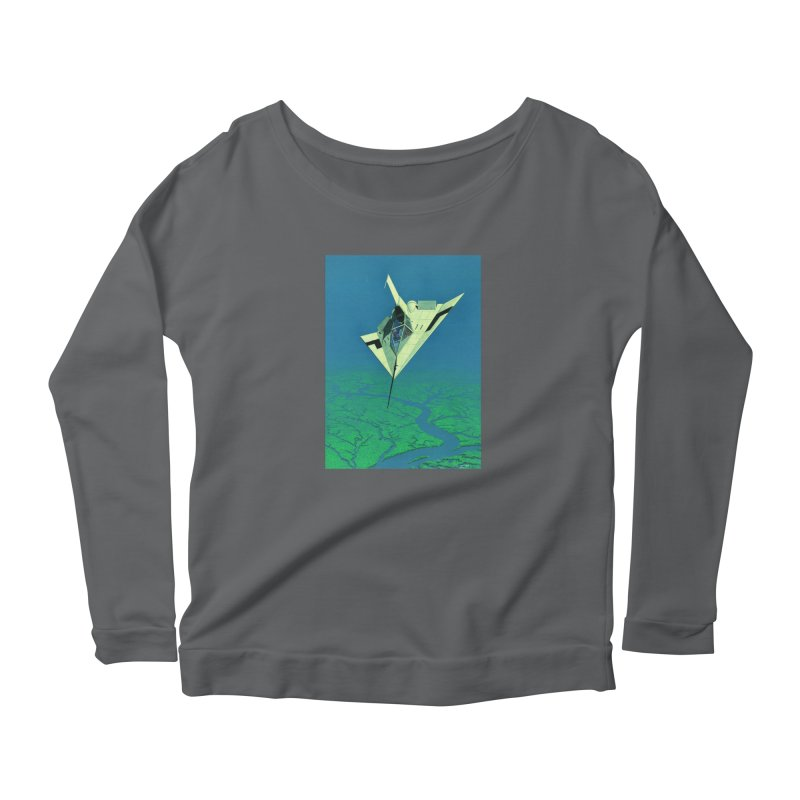 Concept Ship 5   Women's Longsleeve T-Shirt by Colin Cantwell ll