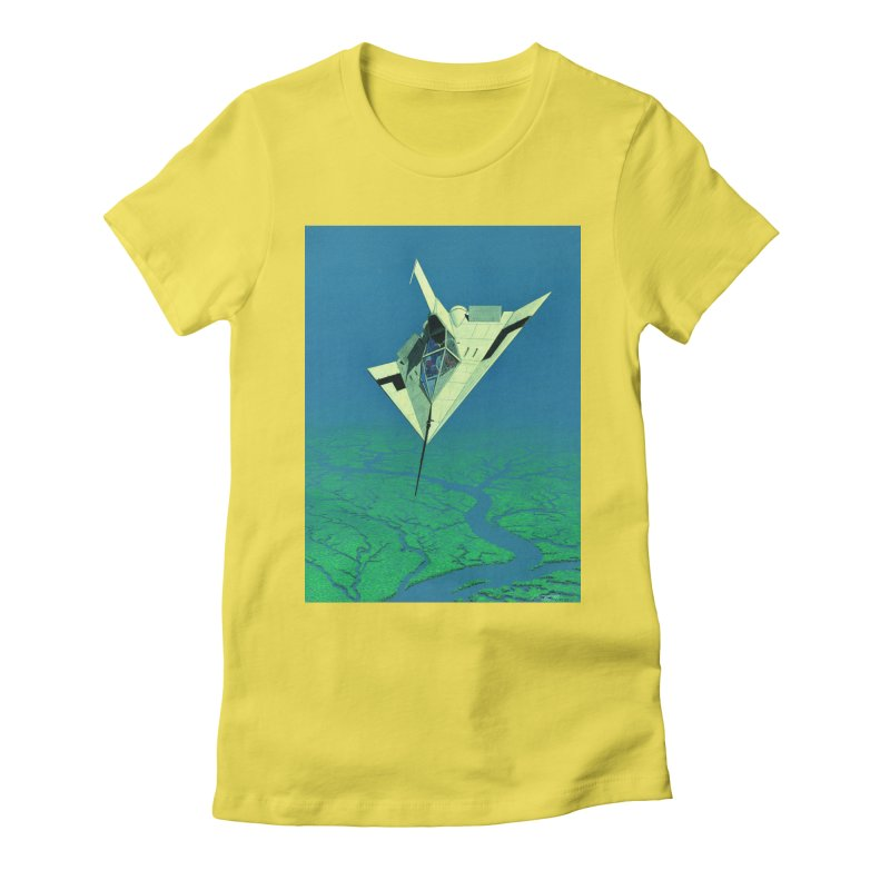 Concept Ship 5   Women's T-Shirt by Colin Cantwell ll