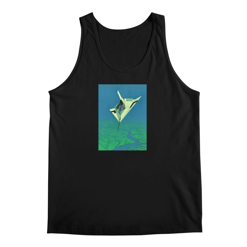 Concept Ship 5   Men's Tank by Colin Cantwell ll