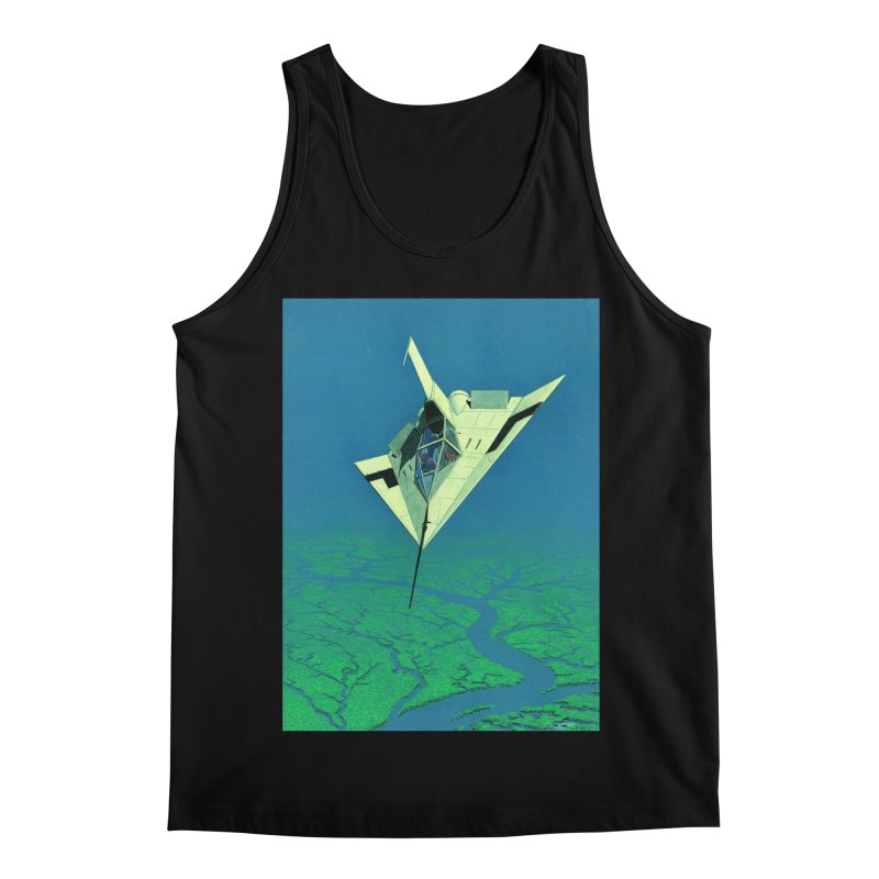 Concept Ship 5   Men's Regular Tank by Colin Cantwell ll